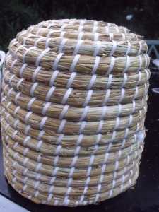 Traditional skep, modern made