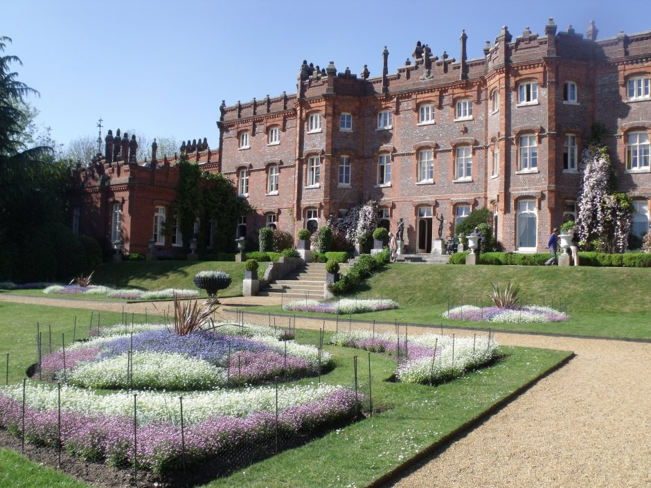 Hughenden manor from parterre