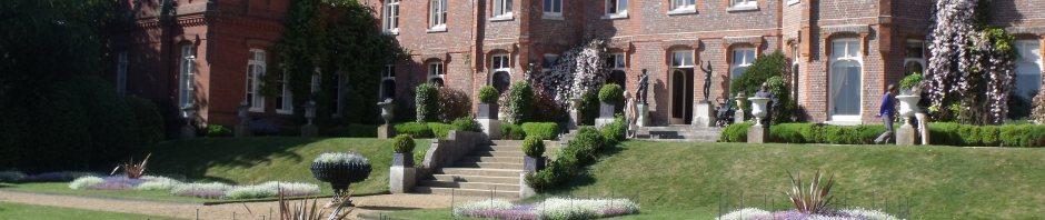 Hughenden manor from parterre